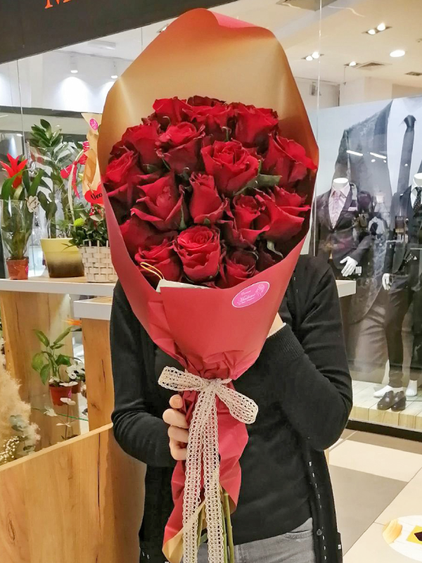 Ruže u buketu