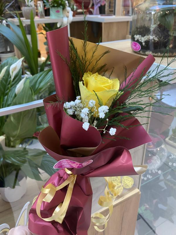 Madame Cvećara | Žuta ruža